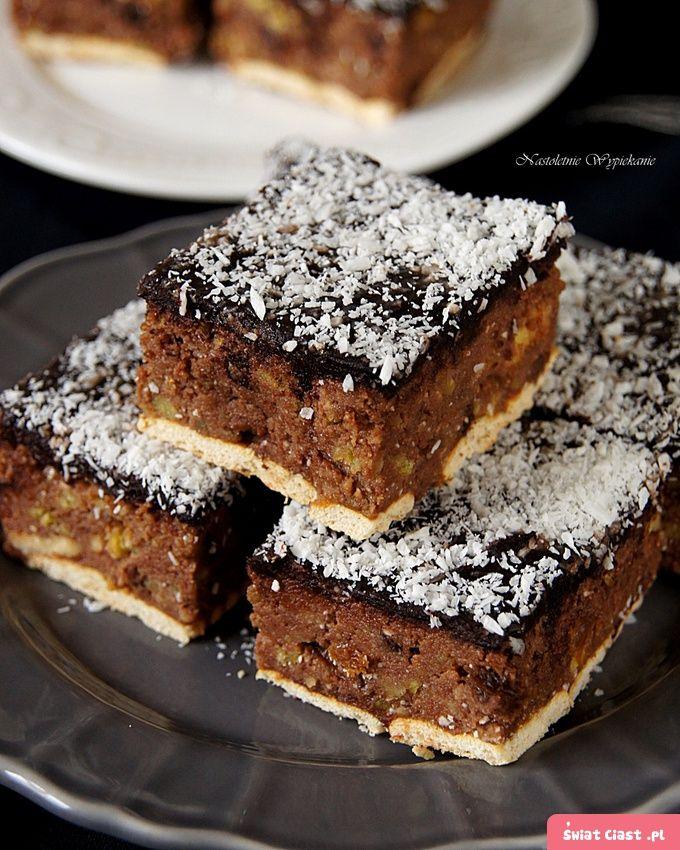 Ciasto z resztek ciast (bajaderkowe) - Swiatciast.pl