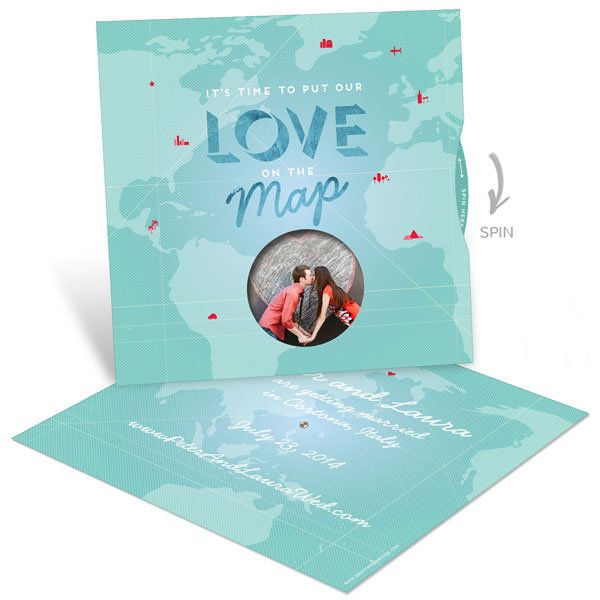 love map save the date pear tree greetings