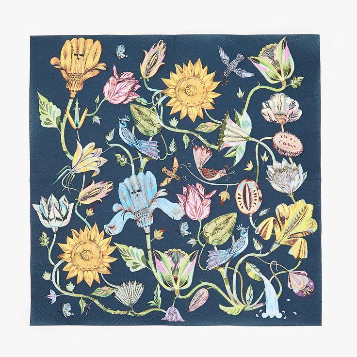 M s de 25 ideas nicas sobre manteles de papel en for Servilletas papel zara home