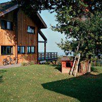 Une maison moderne à l'authenticité d'un chalet savoyard. - Marie Claire Maison