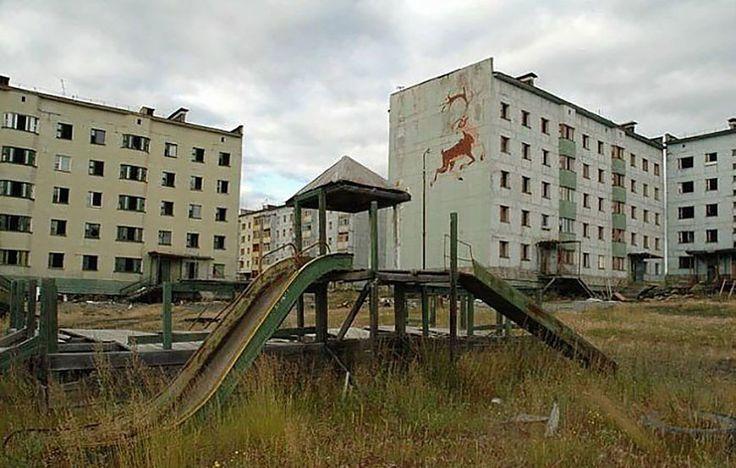 Заброшенный поселок Кадыкчан