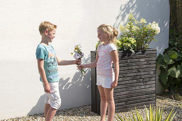 Maak je terras gezellig met de juiste tuinaccessoires van #Woodvision!