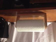 OAK PAPER TOWEL HOLDER WALL OR UNDER CABINET