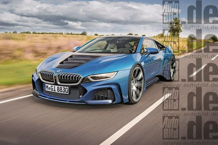 next 2017 BMW i8 optional 480HP engine of displacement 3