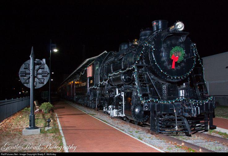RailPictures.Net Fotoğraf: NW 1134 Norfolk & Batı Grady F. McKinley tarafından Portsmouth, Virginia Buhar 4-8-0