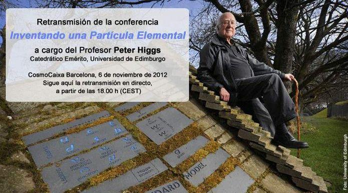 Peter Higgs explica los secretos del bosón en una charla que se podrá seguir en directo en @cerestv