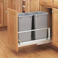 Rev-A-Shelf 5349 Series Double Pullout Waste Containers