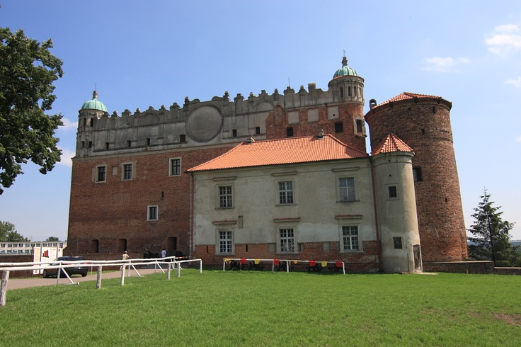 Castle in Golub ( Poland )