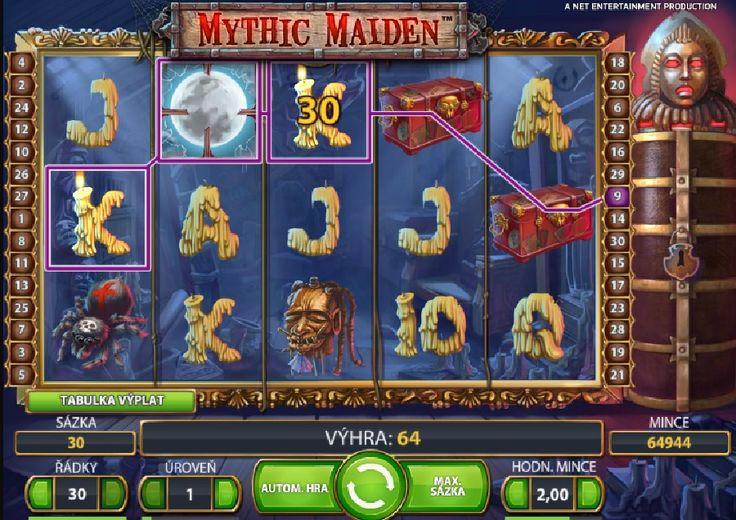 Tajemné výhry každým roztočením!  http://www.hraci-automaty.com/hry/vyherni-automaty-mythic-maiden  #mythicmaiden #hraciautomaty #vyhra #vyhra