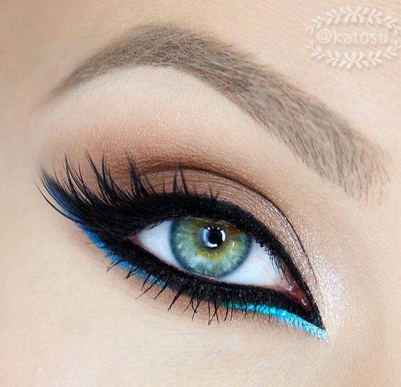 Arabian nights inspiration (Katosu): eye makeup - http://amzn.to/2hGJKkg