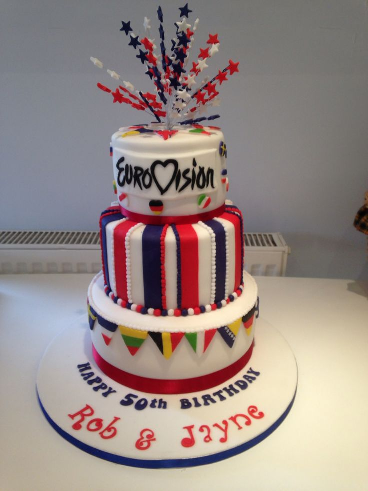 My party cake Eurovision 2015!