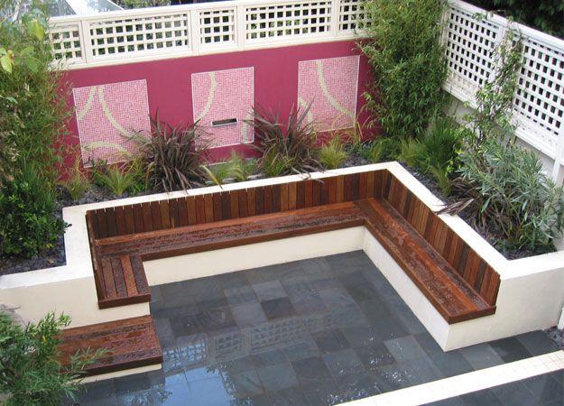 Raised Garden Border Ideas garden wall designslandscaping design raised bed along fence Seating In Raised Borders