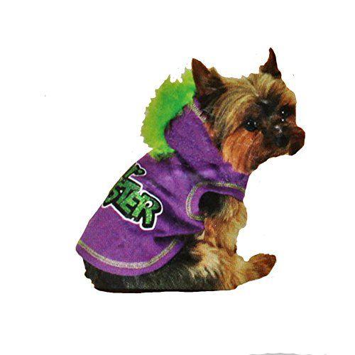 SimplyDog Halloween Purple Hoodie XSmall - Lil' Monster SimplyDog http://www.amazon.com/dp/B00XK8S7MW/ref=cm_sw_r_pi_dp_ba36vb11PGDG1