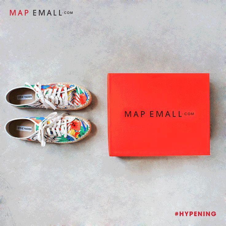 Mulai dari Steve Madden, Campers, hingga Dr Martens, temukan footwear favoritmu hanya di www.mapemall.com! #Hypening now.