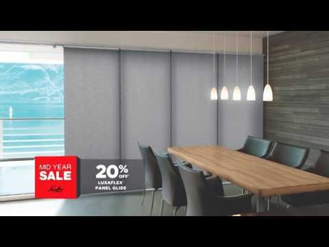 The Luxaflex Mid Year Sale 2016