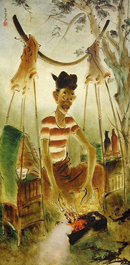 PENJUAL STATE, Lee Man Fong (1913~1988, Guangzhou, China; growing up in Singapore)