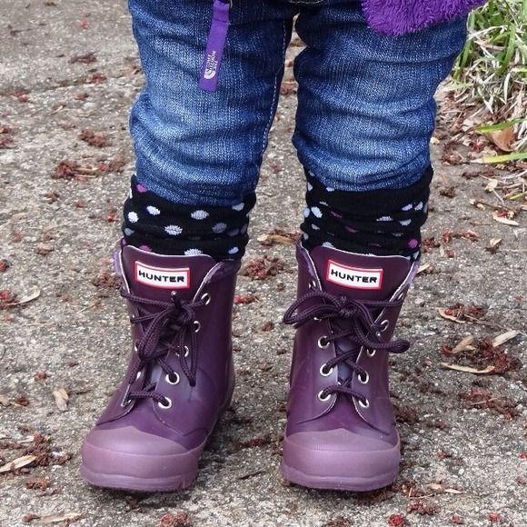 Hunter Boots Shoes - Toddler / Kids Hunter Rain Boots size 7