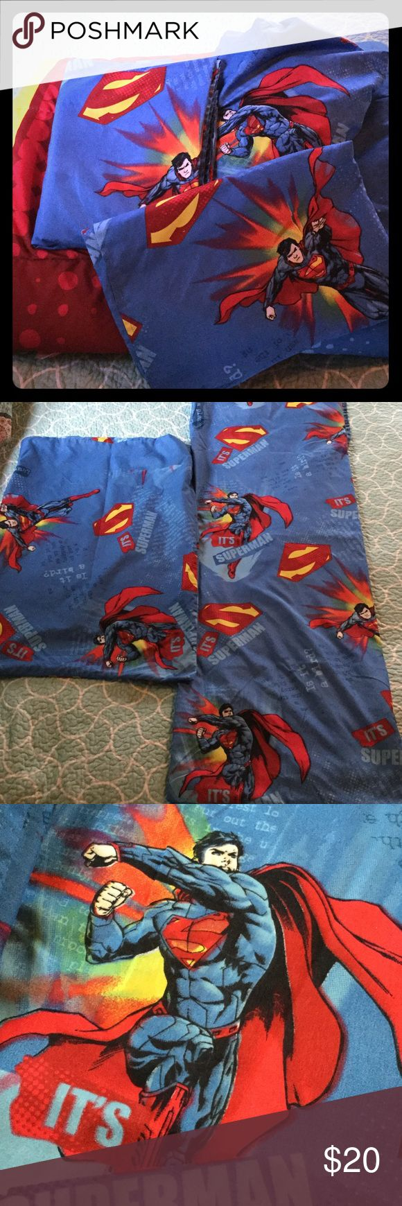 Bed cover my love anak - Superman Bedding Twin