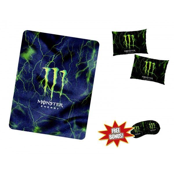 Monster Energy New Blanket pillowcase sleeping mask