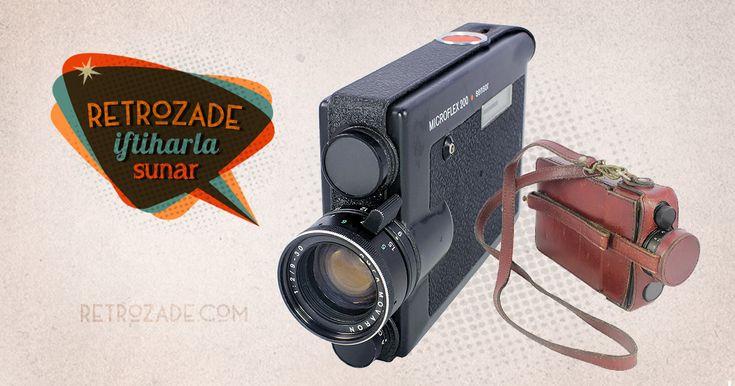 Agfa Microflex 200 8mm Film Kamerası