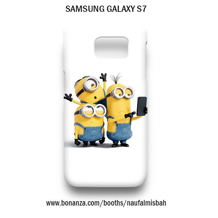 Selfie Despicable Me Minions Samsung Galaxy S7 Case Cover