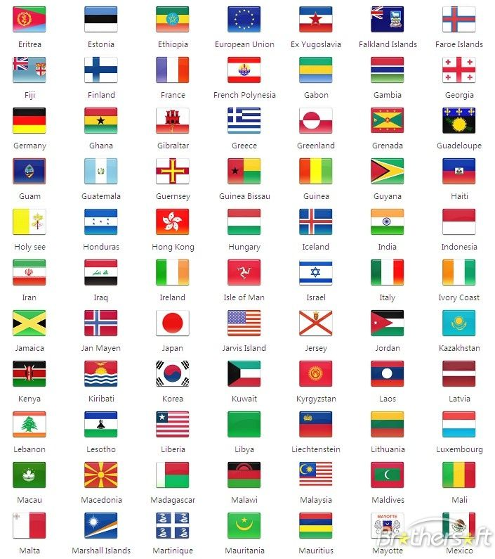 Country Flags Country Flag Icon Set All In One Country Flag Icon Set 5 0 Download Country Flags Icons Country Flags Country Flags And Names