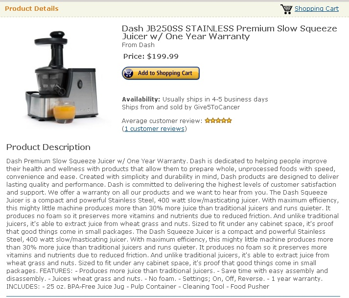 Dash Slow Juicer Review : 35 best juicer blender reviews images on Pinterest Cooking ware, Cooking utensils and Kitchen ...
