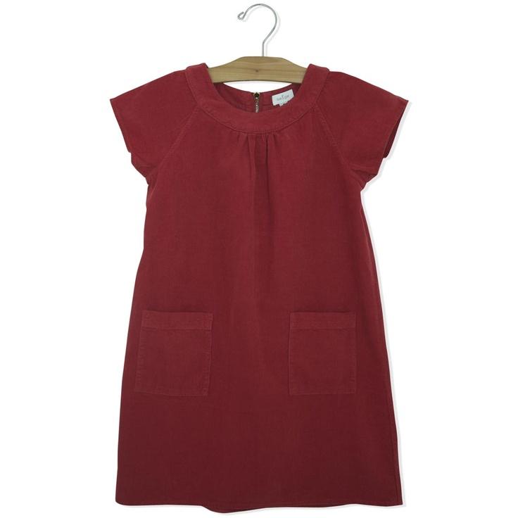 corduroy dressKlein Kleertjes, Corduroy Dresses, Diy Baby, Baby Clothing, Children'S Fashion, Kids Clothing, Para Claudia, Girls Style, Girls Garb
