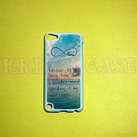 iPod Touch 5 Casecute forever love iPod touch 5 Cases by KrezyCase, $16.95