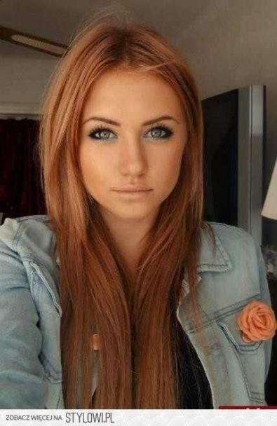 Trendy hair brown copper eyebrows 17+ Ideas   Strawberry ...