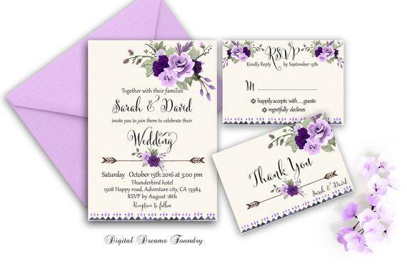 Purple Rose Wedding Invitations: 1000+ Ideas About Purple Roses Wedding On Pinterest