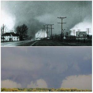 Palm sunday tornado outbreak of 1965 analysis