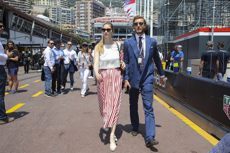 MONACO GRAND PRIX BEST LOOKS Beatrice Borromeo, Pierre Casiraghi