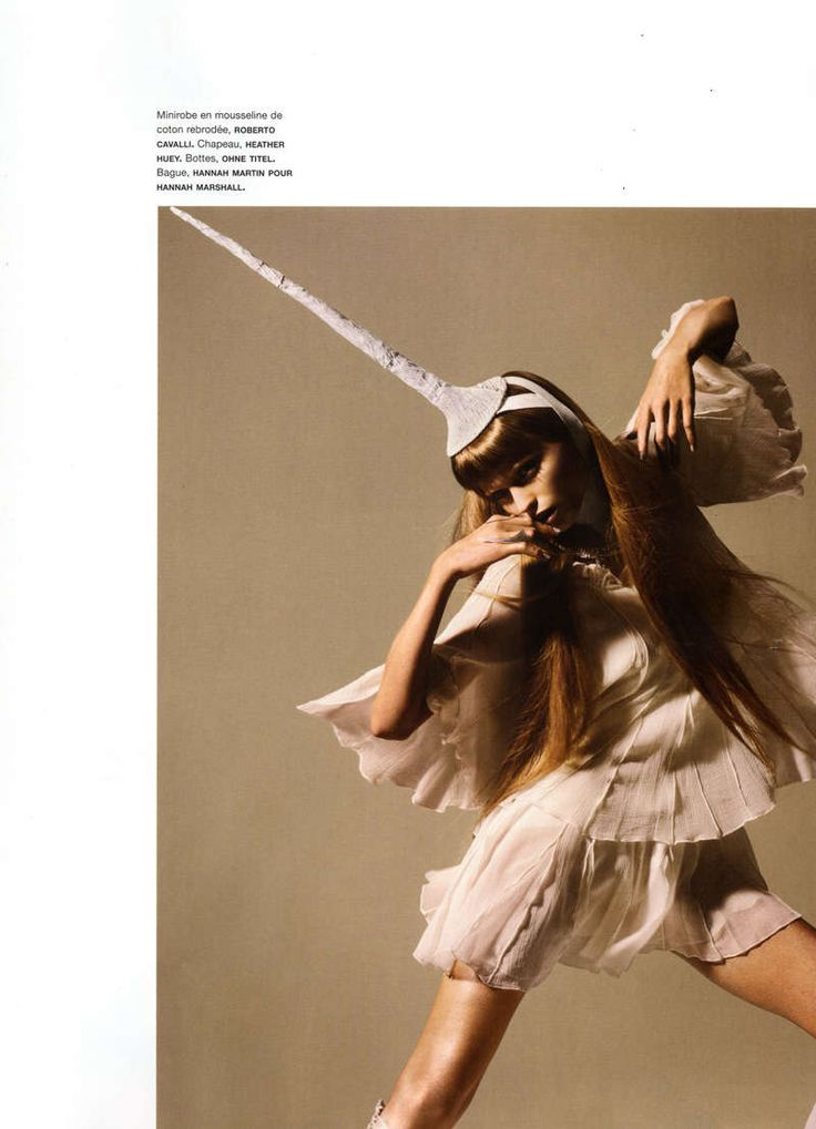 Funky Feathered Editorials: Model Abbey Lee Kershaw is a 'Oiseau Rare' in Numero Magazine