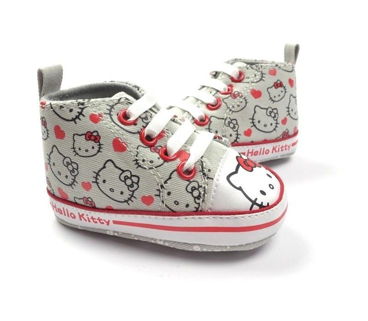 Hello kitty baby shoes. The cuteness is literally killing me!