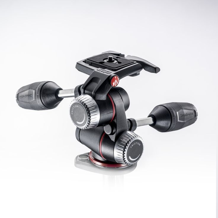 X-PRO 3-Way Head with retractable levers & friction controls