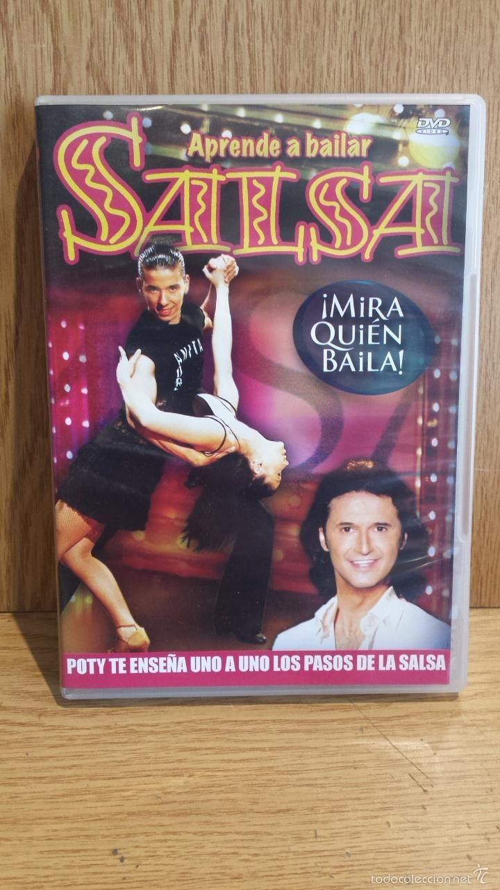 MIRA QUIÉN BAILA. APRENDE A BAILAR SALSA CON POTY. DVD Nº 6 / VALE MUSIC / CALIDAD LUJO.