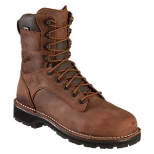 Danner Workman AT GORE-TEX Safety Toe Work Boots for Men - Brown - 11.5M