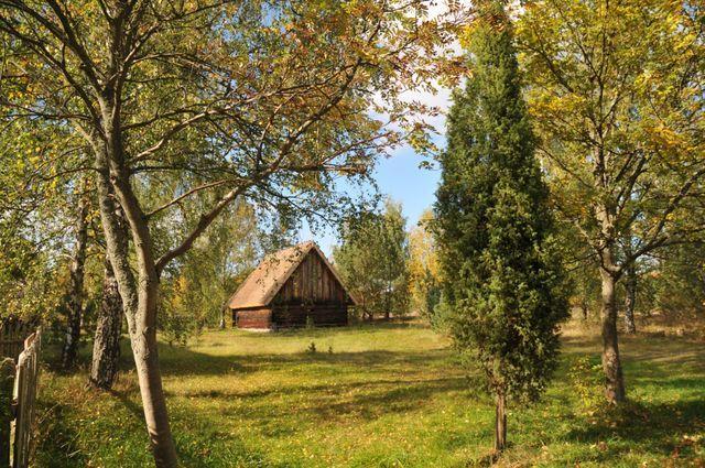 Kaszuby. Wies polska . Polish village