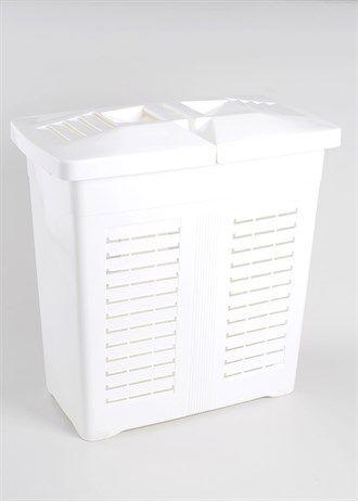 Plastic Laundry Basket (58cm x 58cm x 33cm)