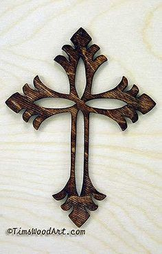 New Handmade Wood Christian Cross, for Wall Hanging or Ornament, Item S1-5