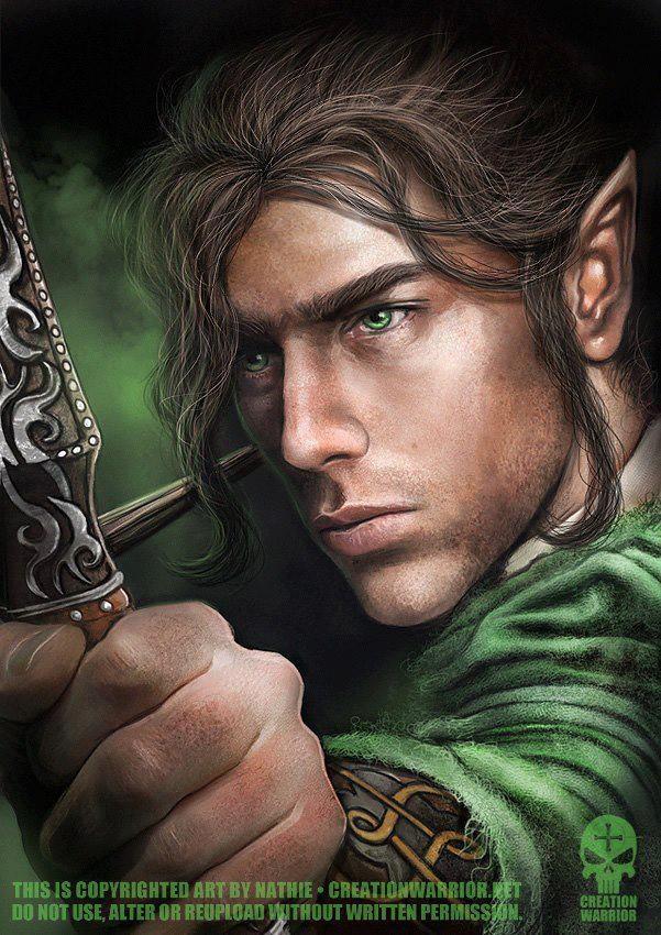 Male Elf Archer