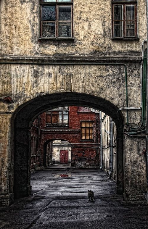 Питерские дворики -