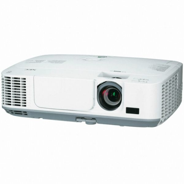 2700-LUMEN PORTABLE PROJECTOR  Get great performance while saving the environment.  Keep your audience engaged during presentations with the 2700-lumen NEC M271X, an easy-to-use and budget-friendly portable projector.  The M271X is particularly suited for classrooms and small to medium sized meeting rooms.  For more details....www.saatvikcommunication.com