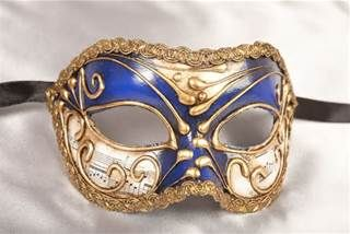 Male masquerade mask