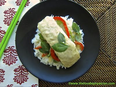 Dining with the Doc: Halibut with Thai Green Curry