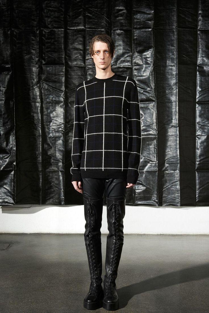 Tops fashion design sketches flat fashion sketch top 045 - Mcq Alexander Mcqueen Fall Winter 2016 Collection