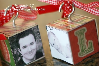 I will be making some of these this holiday :)))) Cute Ornaments! :)