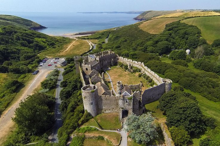 30 stunning pictures of Wales as you've never seen it before Manobier skycamwales.com/Pembrokeshire