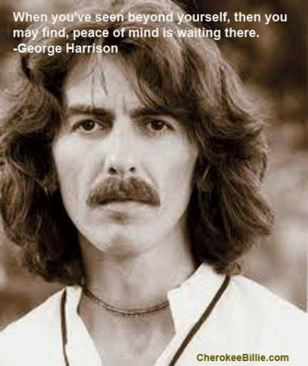 George Harrison of the Beatles quote quotes